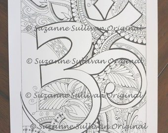 OM Coloring Page, Yoga Coloring Page, Printable Download, Adult Coloring Page, Relaxing Coloring Page, OM, Coloring Page, OM Symbol Coloring