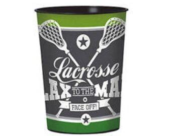 16oz Plastic Lacrosse Cup dishwasher safe