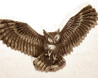 new Design Great Horned Owl ...  {  Flying Tiger..}