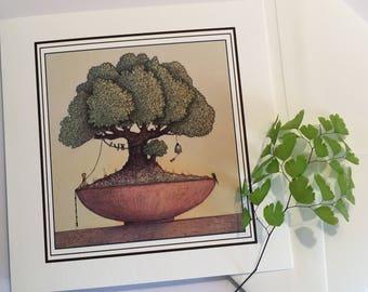 The Singing Tree Greeting Card