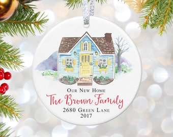 Our New Home Ornament Home Sweet Home New House Ornament Gift For Housewarming Gift For Couples Home Gift Housewarming Party New Home Sign