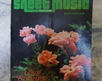 Two copies of Sheet Music Magazine March/August 1979