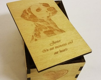 Ashes Box for your dog or cat.