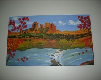 "Original Oil Painting ""Southwest Beauty"""
