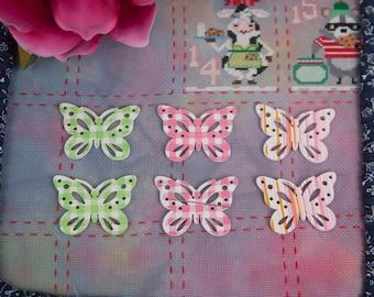 Needleminder / needle keeper / needle knack for cross stitch / embroidery / needlework / xstitch / Large Butterfly