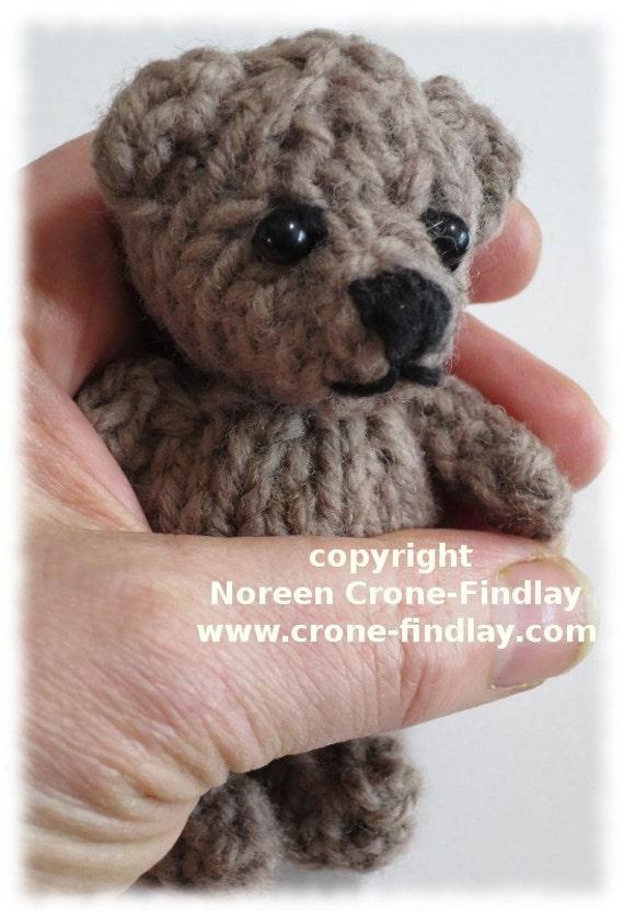 Knitted Teddy Bear Pdf Pattern Findlay Bear Flora Panda