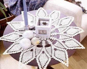 Crochet doily - crochet doilies - large doily - Home decor - White crochet doily - Handmade tablecloth