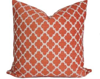 Orange Pillow Etsy