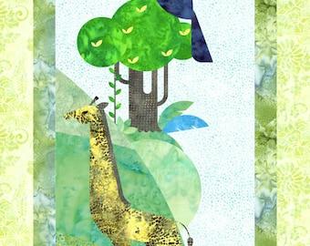 Collage Quilt Freida Fox Pattern By Laura Heine For