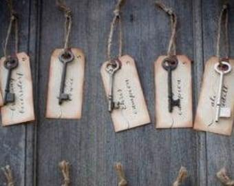 Skeleton Keys | Cast Iron | French Decor | Antique Key | French Style | Vintage Key | Key Jewelry | Hotel Key | Industrial