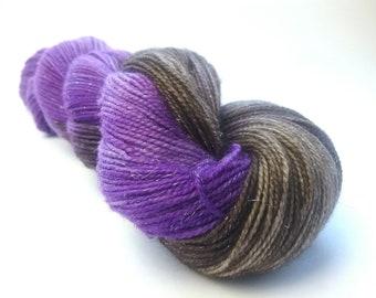 Cadbury sparkle merino nylon fingering/4ply/sock yarn