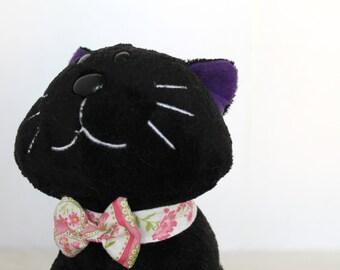 Female Kitten Floral Collar