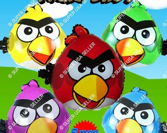 Angry Birds balloon Parrot Galinha birds birthday party supplies decoration