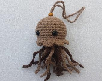 Jellyfish, Crochet jellyfish, Nursery decor, baby shower gift, jellyfish stuffed toy, fish decoration, jellyfish plush, sea creature