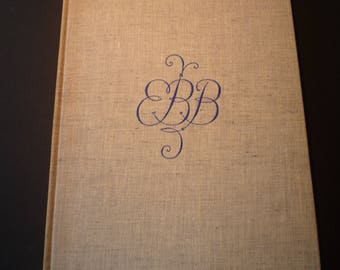 Sonnets from the Portuguese by Elizabeth Barrett Browning Valenti Angelo - 1948 Limited Editions Club  poetry lovers slipcase sandglass