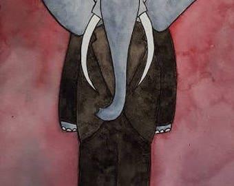 The Elephant Man Original Art