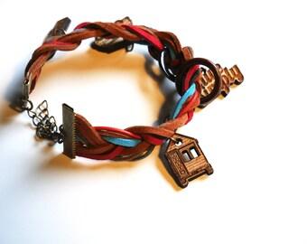 Tiny House Charm Bracelet