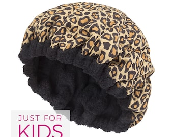 FOR KIDS! Microwavable Deep Condition Cap - SASSY Reversible Little Hot Head