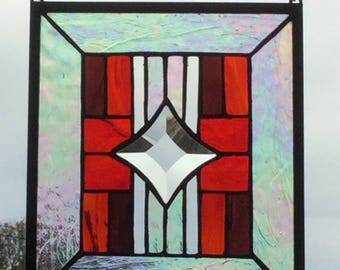 Southwest Stained Glass Panel #1