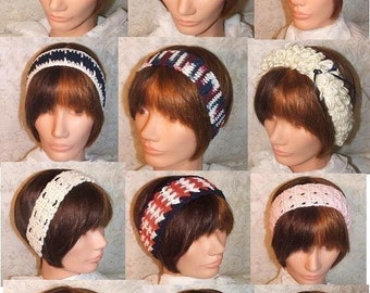Crochet Pattern-Headband of the Month Club