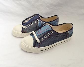 kids scottie patchwork sneaker size 2