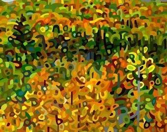 budanArt  13 x 19 Large Print - Towards Autumn