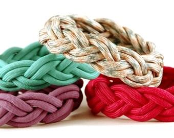 Nautical Bracelet, Sailor Bracelet, Nantucket Bracelet, Womens Bracelet, Casual Bracelet, Rope Bracelet, Paracord Bracelet, Beach Jewelry