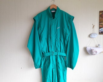 Ski suit Adidas, vintage ski suit large, retro ski suit, Adidas ski suit, ski suit woman, ski suit vintage, One Piece Ski Suit, ski overalls