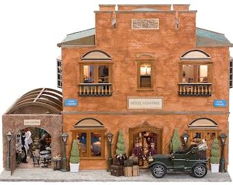 The Hotel Vendome - French architectural miniature