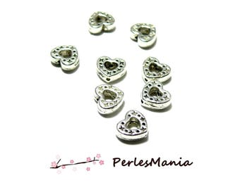 PAX 50 spacer beads from 8mm ZN615 star and heart