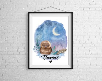 OWL custom poster