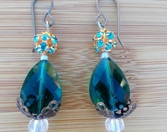 Mermaid Goddess Fishook Earrings