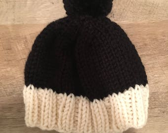 Day and Night Pompom Hat