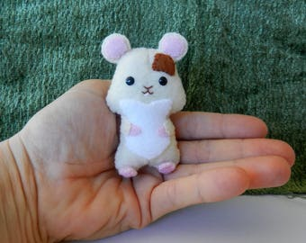 Mini Felt Hamster Softie Plushie by Noialand