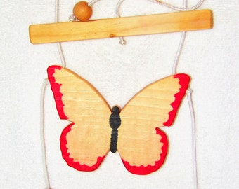 Climbing Butterfly, Red