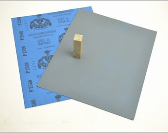 Free Shipping Chinese Calligraphy Material  28x23cm Matador Abrasive Paper Sandpaper 2500# - Waterproof  / Seal Stone Polishing / - 0001