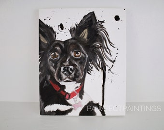 Custom pet painting, custom dog painting, custom dog portrait, custom pet portrait, dog art, custom dog oil painting