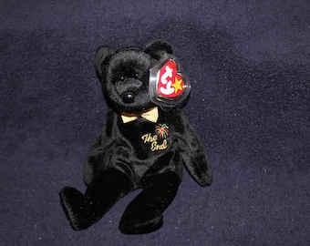 "The End ""RARE"" Beanie Baby with Tag ERRORS"