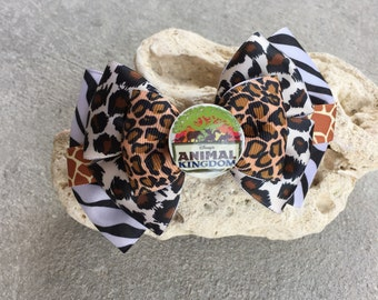 Animal Kingdom Inspired hairbow