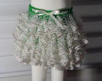 Ruffle skirt, Girl's clothing