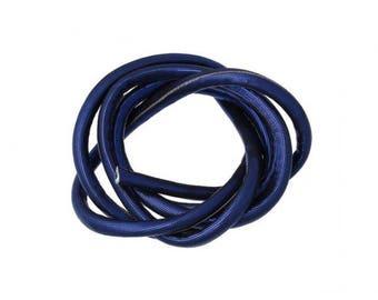 1 m cord 5mm brilliant blue