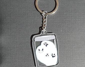 Ghost Jar Keychain