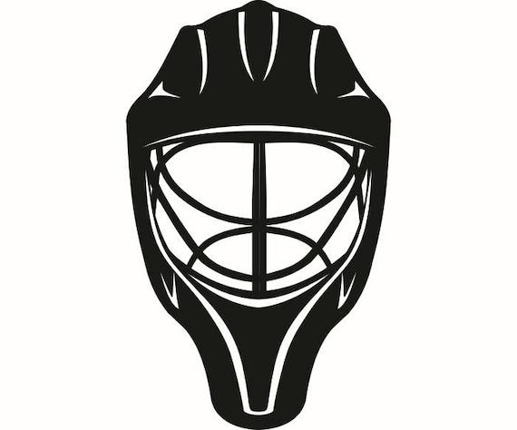 hockey mask 1 helmet player stick mask pads stadium arena ice. Black Bedroom Furniture Sets. Home Design Ideas