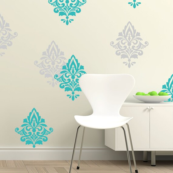 Perfect Damask Wall Decal Home Decor Living Room Decals Damask