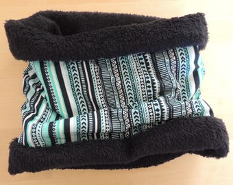 Neck size G (tenn/adult), neck warmer, cowl scarf, hand made.