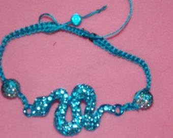 Blue snake Shamballa