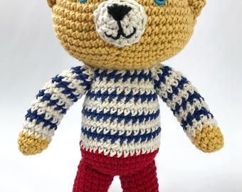 Handmade Stuffed Animal   Bear