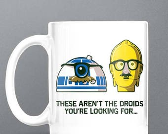 Comic Star Wars Mug - These Aren't The Droids You're Looking For