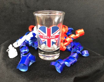 UK England Shot Glass