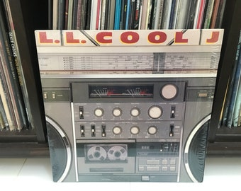 "L.L Cool J- ""Radio"" vinyl record"
